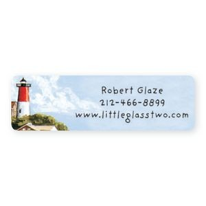 Lighthouse Address Label
