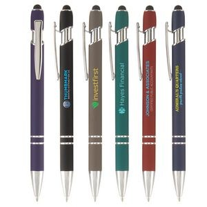 Ellipse Softy with Stylus - ColorJet - Full Color Metal Pen